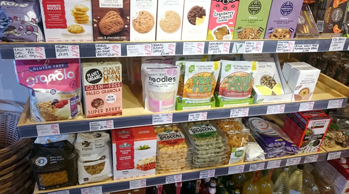 Haworth Wholefoods offers a fabulous selection of gluten-free foods