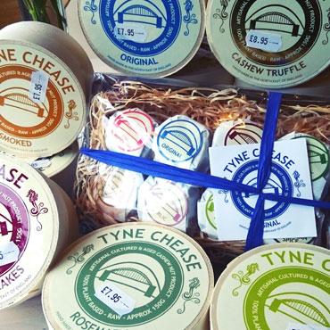 Tyne Chease is in our opinion the best vegan cheese on the market