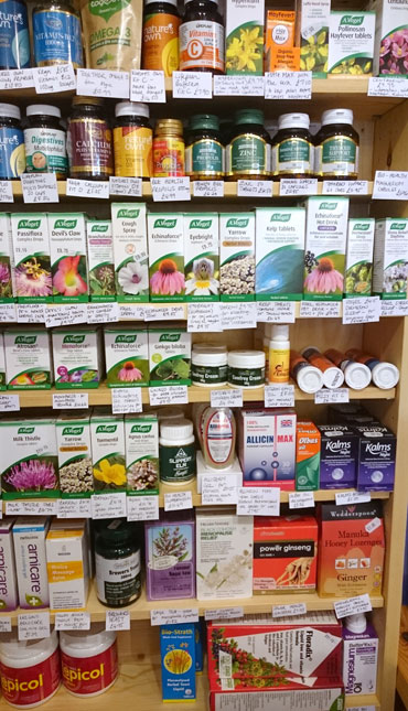 Buy vitamins and supplements from Haworth Wholefoods